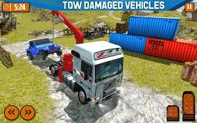 100 Tow Truck Simulator Offroad Driver Transport For
