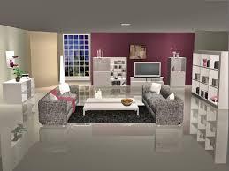 simplified sims 2 miami series wohnzimmer