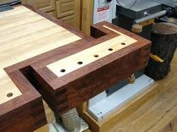 Woodworking Bench Vise Lie Tail With A Custom Sized Maple Case Workbench Vice