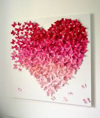 Trendy Design Ideas Heart Shaped Wall Decor Innovative 1000 About Butterfly On Pinterest