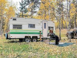 104 Restored Travel Trailers Before And After Photo Tour Of A Renovated 1970s Camper Trailer