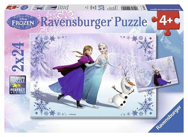 Ravensburger Disney Frozen Jigsaw Puzzles - 2 x 24 Pieces