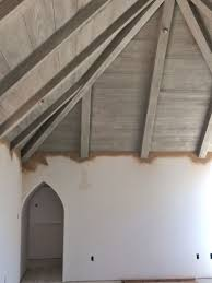 100 Wood On Ceilings A French Normandy Style House Update Paneling Other Millwork