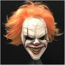 Scary Halloween Half Masks by Popular Clown Mask Buy Cheap Clown Mask Lots From