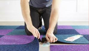 how to install commercial carpet tiles express flooring