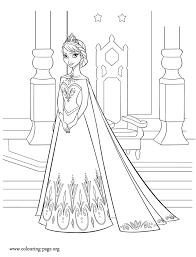 Frozen Elsa Coloring Pages 8