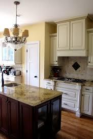 kitchen lapidus granite travertine tile cabinets with
