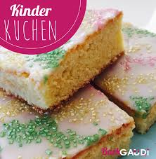 kinderkuchen backgaudi
