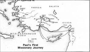 Paul Missionary Journeys Coloring Page