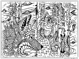 Realistic Adult Wolf Coloring Pages Print Download 597 Prints