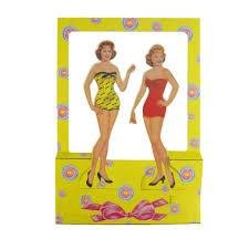 Vintage Paper Dolls 1950 S Vintage 1940 1950 S Flower Girl Paper
