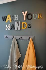 Bathroom Wall Decor Ideas Pinterest by Wall Art For Your Bathroom Too Cute U0026 A Good Reminder For Little