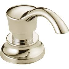 delta faucet rp71543pn cassidy polished nickel soap dispensers