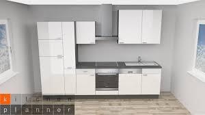 moderne küchenzeile oslo weiß hochglanz ohne e geräte