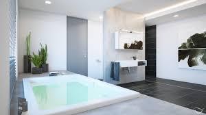 die großzügige badewanne lädt zum verweilen ein bad