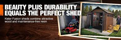 Keter Storage Shed Home Depot by Home Depot Storage Shed Plans Must See