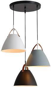 einfach pendelleuchte restaurant esstisch kücheninsel hängele macaron leuchter schwarz weiß grau e27 3 flammig für küche wohnzimmer büro