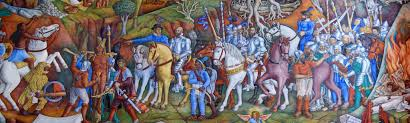 Coit Tower Murals Images by Juan O U0027gorman 1905 1982 Painted A Magnificent Mural In The