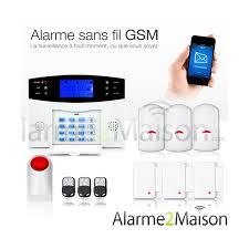alarme maison sans fil gsm 3 4 pièces