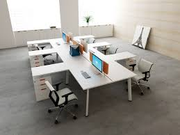 modern commercial office furniture commercial office furniture modern 6 person office workstations l