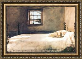 andrew wyeth Master Bedroom Framed Print for sale paintingandframecom