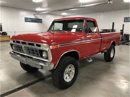 100 1975 Ford Truck For Sale F100 For ClassicCarscom CC1082279