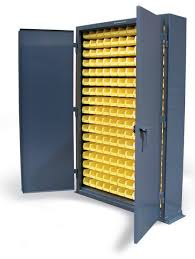 Flammable Liquid Storage Cabinet Grounding by Strong Hold Products Slim Line Bin Storage Cabinet
