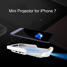 Mini Projector for iPhone 7 Portable Led Wifi Projector Smart DLP