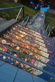 16th avenue tiled steps address san francisco s secret mosaic staircase