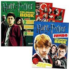 Image Is Loading Harry Potter Coloring Book Super Set 2