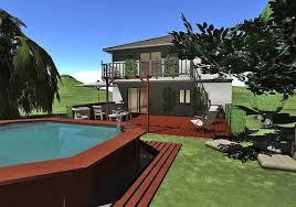 logiciel plan exterieur maison 3d gratuit ides de dcoration