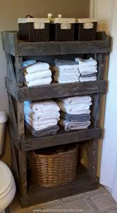 35 DIY Bathroom Shelf Ideas From Wood Pallets - Elonahome.com 200 Mini Bathroom Shelf Wwwmichelenailscom 40 Charming Shelves Storage Ideas Homewowdecor 25 Best Diy And Designs For 2019 And That Support Openness Stylish Decor 22 Small Wall Solutions Shelving Ideas Shelving In The Bathroom Storage Solutions With Hooks Amazon For Entryway Ikea Startling 43 Creative Decorating Gongetech Tiles Remodel Marble Freestandi Bathing Excellent Handy Stan Bunnings Organizer Design Wonderfully