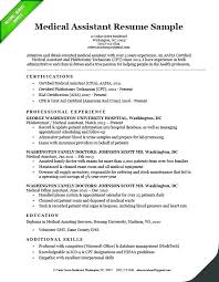 Resume Career Objective Examples Medical Field Download Template For Amazing Design Samples Sample