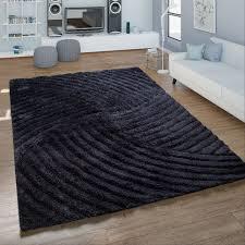 hochflor wohnzimmer teppich shaggy konturenschnitt