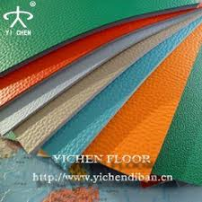 Pvc Sports Plastic Floor Covering Roll For Badminton Court Ground