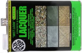 mexican floor tile sealer glaze n seal look green lacquer gal