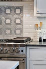 Accent Tiles For Kitchen Backsplash Luxurious Cottage Interiors Home Bunch An Interior