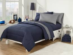Bedroom Tar Grey forter Navy Blue forter
