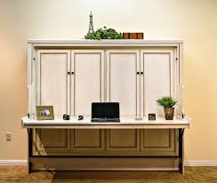 Murphy Bed Office Desk Combo by Hide Away Desk Bed Wilding Wallbeds