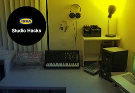 Linnmon Corner Desk Hack by Ikea Studio Hacks Build Your Creative Space On A Budget Audio