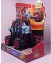 100 Mater Monster Truck Mattel Disney Pixar Cars Toon Exclusive Rasta