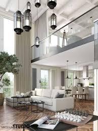exklusive wohnung in sopot moderne wohnzimmer