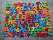 magnetic letter lot