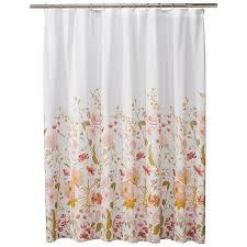 Target Pink Window Curtains by Threshold Wild Flower Shower Curtain Pink Target 217