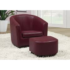 Amazon.com: Monarch Specialties Leather-Look Juvenile Chair ... Chairs Red Leather Chair With Ottoman Oxblood Club And Brown Modern Sectional Sofa Rsf Mtv Cribs Pinterest Help What Color Curtains Compliment A Red Leather Sofa Armchair Isolated On White Stock Photo 127364540 Fniture Comfortable Living Room Sofas Design Faux Picture From 309 Simply Stylish Chesterfield Primer Gentlemans Gazette Antique Armchairs Drew Pritchard For Sale 17 With Tufted How Upholstery Home