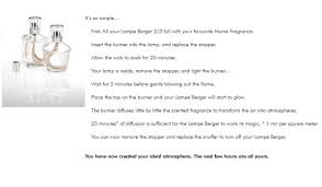 Lampe Berger Easy Scent Instructions by Fascinating Lampe Berger Instructions As Your Own Residence
