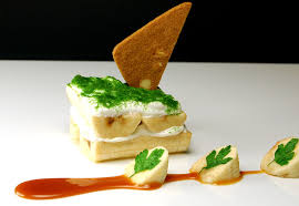 molecular gastronomy cuisine banana with parsley dust parsley molecular gastronomy and bananas