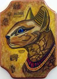 Egyptian Cat Animal Art