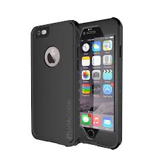 PUNKcase StudStar Black Apple iPhone 6S Plus 6 Plus Waterproof Case