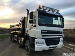 To Fit Pre 2014 DAF CF Day Standard Sleeper Cab Steel Roof Light Bar ...
